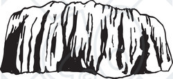 Clipart black   Rock Clipart Black And White