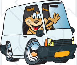 delivery driver clip art - photo #19