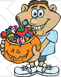 Royalty Free Rf Clipart Illustration Of A Trick Or