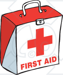 Free first aid kit red cross